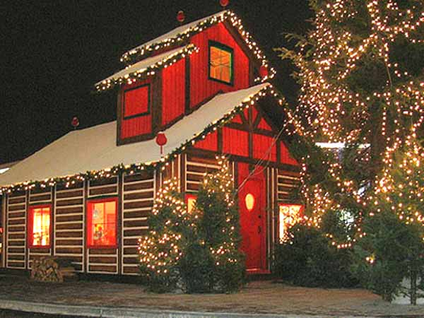 Outdoor christmas decoration christmas outdoor yard - Christmas decorating exterior house ...